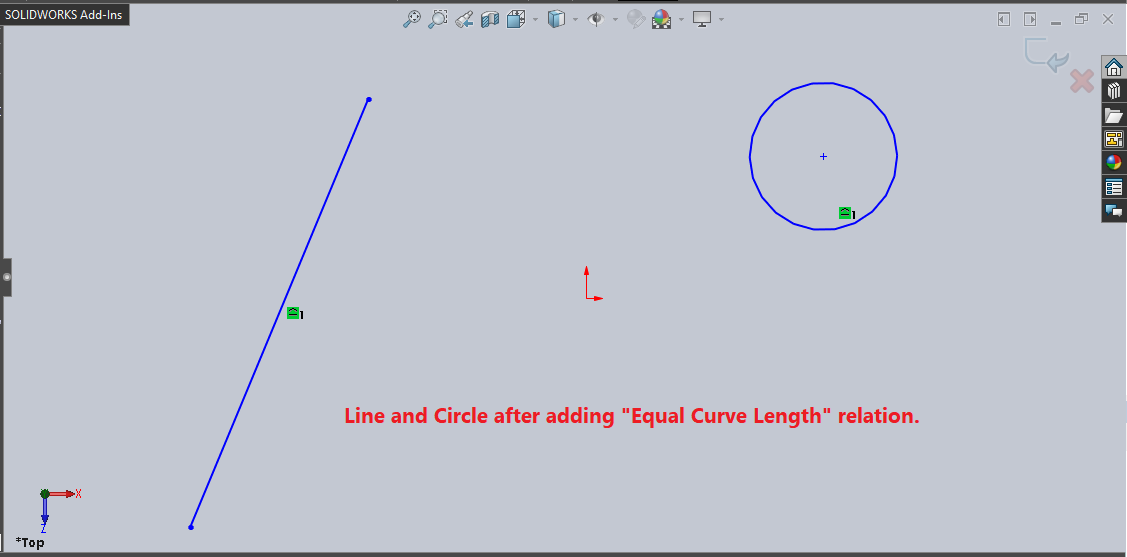 line-circle-after-adding-equal-curve-length-relation